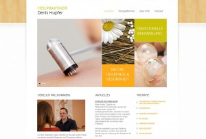 Website Heilpraktiker Denis Hupfer